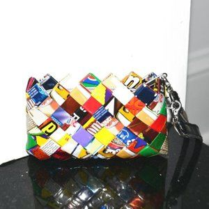 NAHUI OLLIN Candy Wrapper Coin Pouch